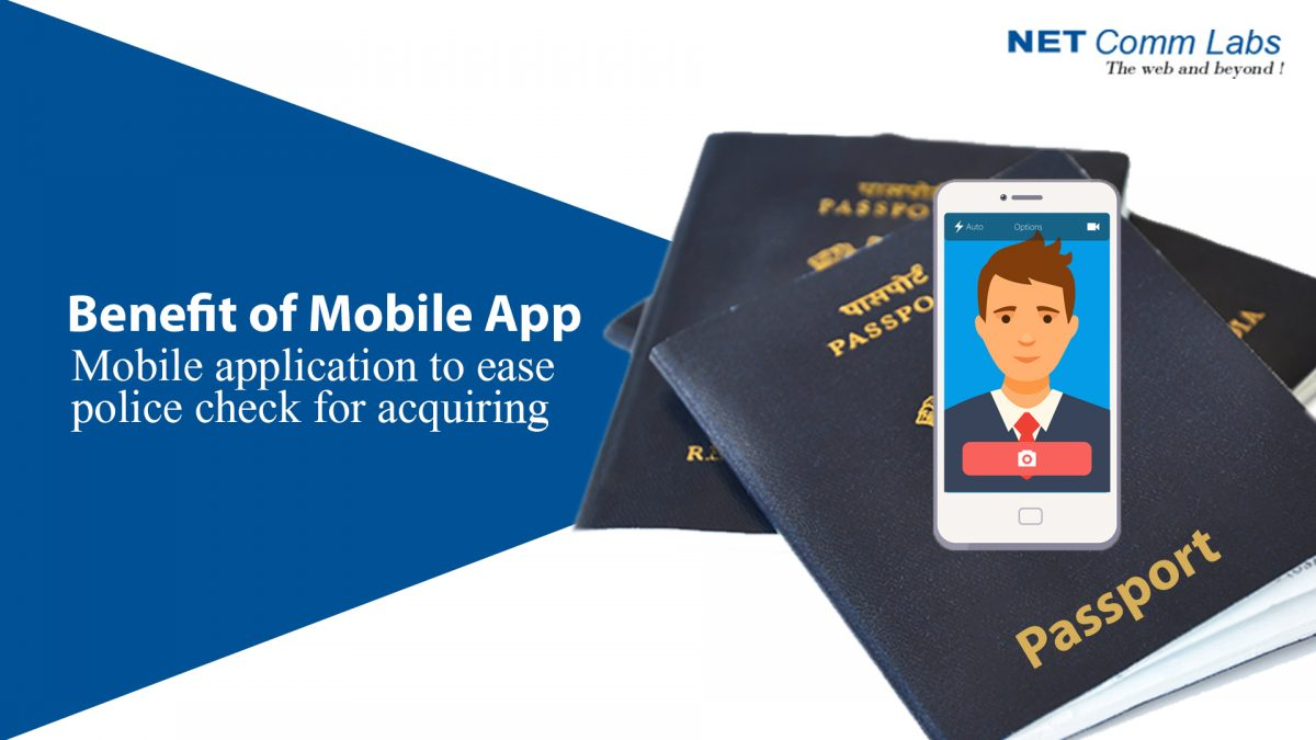 Mobile application to ease police check for acquiring passport!!