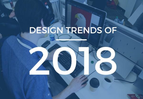10 Webdesign trends of 2018