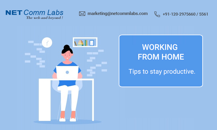 Working from home stay productive